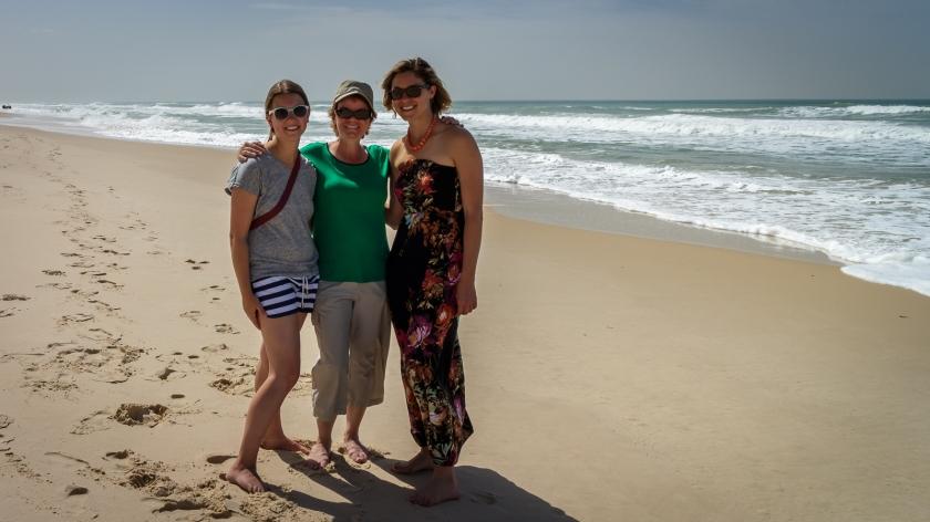 Elena, Louise et Rebecca