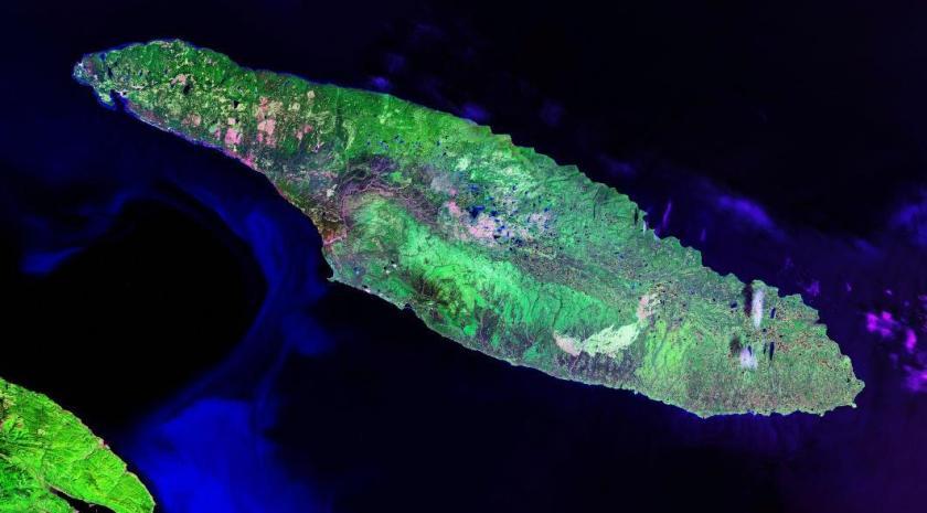 Photo satellite de Wikipédia