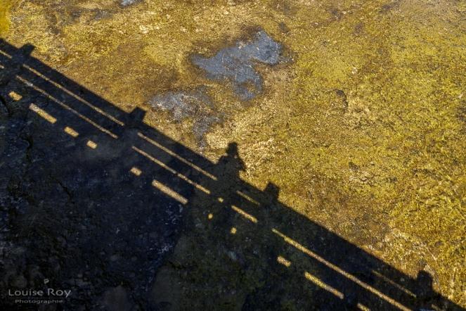 Rivière-aux-rats - Photo prise du haut du pont - Eau cristalline