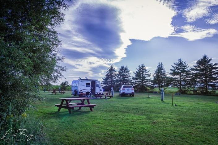 Camping municipal à l'Isle-aux-Grues
